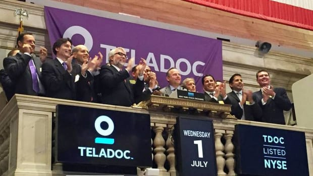 Teladoc Shares Surge in NYSE Debut as Investors Focus on 'Telehealth'