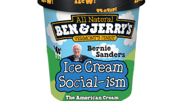 Bernie Sanders Ben & Jerry's Flavor: Ice Cream Social-ism