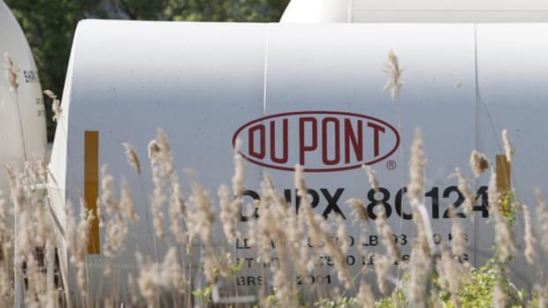 DuPont Falls After Proxy Fight; Ralph Lauren Hit By Currency Woes