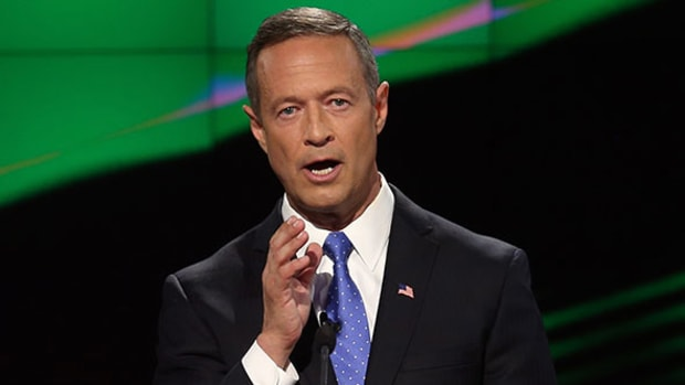 Martin O'Malley Calls for Reinstatement of Glass-Steagall Act