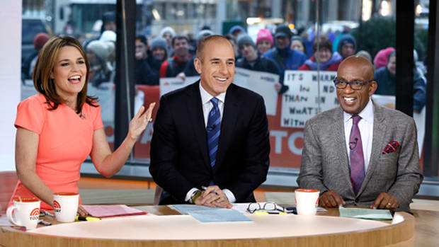 NBC Fires 'Today' Host Matt Lauer Over 'Inappropriate Sexual Behavior'