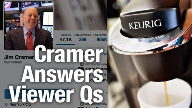 Jim Cramer Likes Keurig Coffee Deal, Says Buy Amazon, Hormel