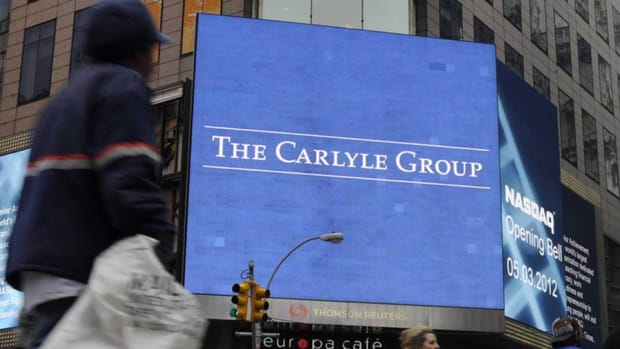 Carlyle Group's David Rubenstein Says Market Valuations High