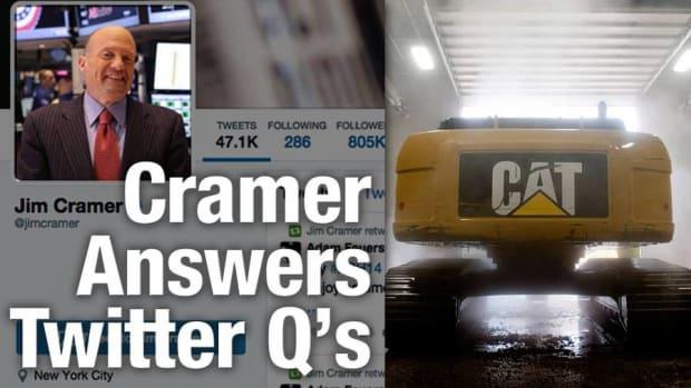 Jim Cramer Says Caterpillar's Announced Job Cuts 'Were Chilling'