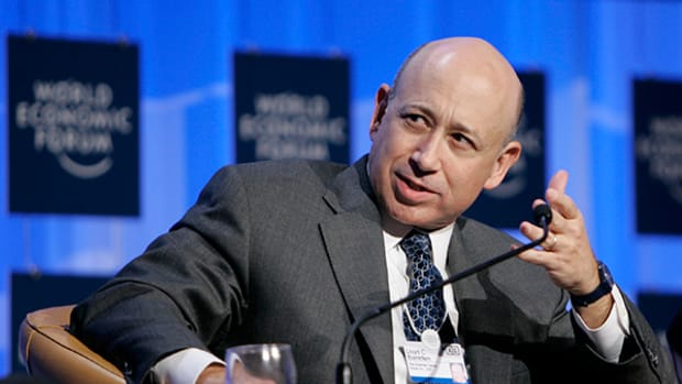 Goldman CEO Lloyd Blankfein Wants to 'Isolate Those Who Try to Separate Us'