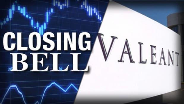Closing Bell: Ackman Ups Valeant Stake; Biotech Pummels Stocks