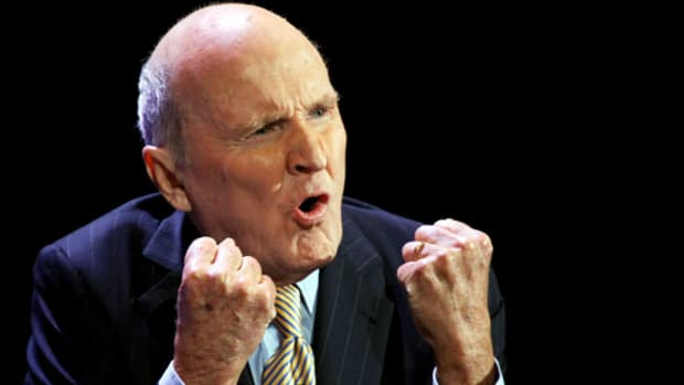 The Sad Story of Jack Welch in Retirement: Opinion