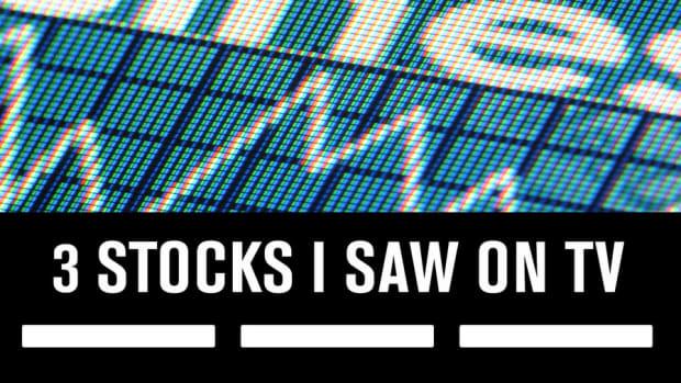3 Stocks I Saw on TV, May 2