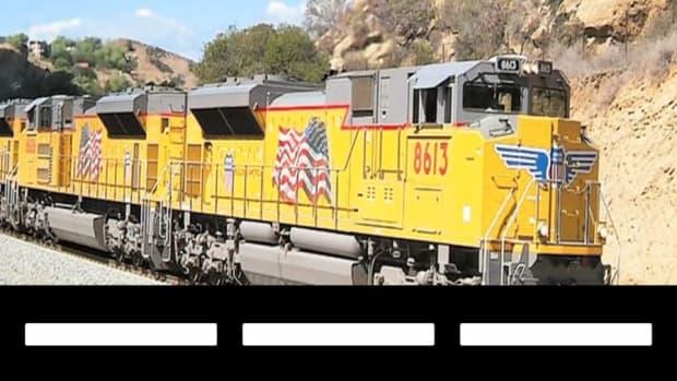 Union Pacific Rolls On Despite Coal Slowdown