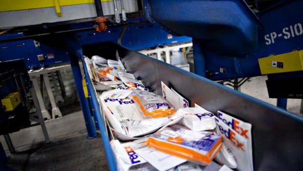 FedEx, UPS Lead Heavy Truck Traffic on I-95