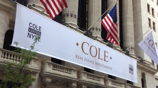 Cole Is on the Big Board Now, With a Sweet 6.5% Yield