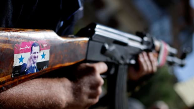 French President Backs Syria Action