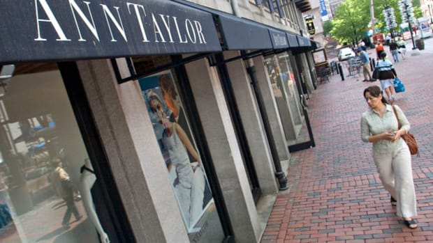 Ann Taylor Jumps as May Sales Improves Outlook