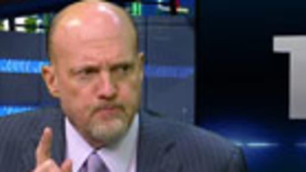 Cramer's 6 Stocks in 60 Seconds: RHT URBN SFD PVH GOOG HEK (Update 1)