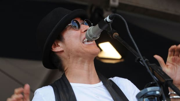 Michelle Shocked: One Stray Shell Is All it Takes