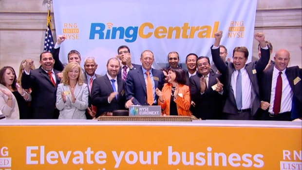 RingCentral Rings Up Hot IPO