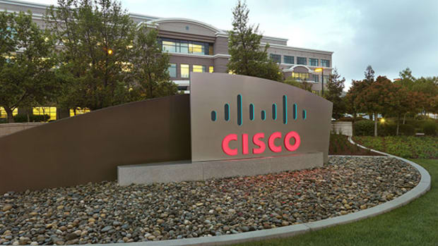 Cisco Systems Chart Framing a Good Risk/Reward Short Trade