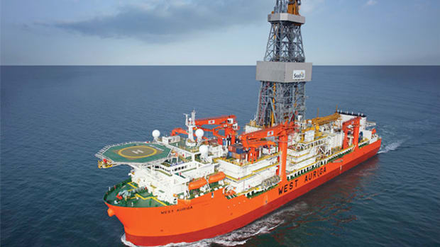 Seadrill Soaring on Canceled Rig Contract Settlement