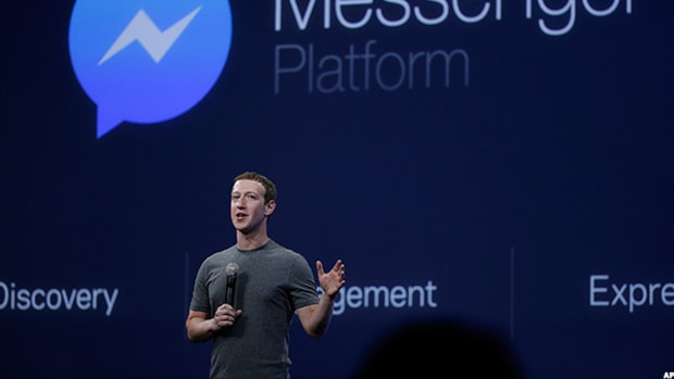 Facebook's Messenger Boasts 1.3 Billion Monthly Users