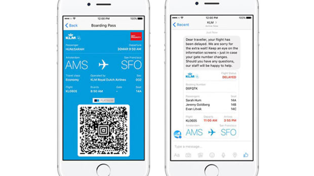 Facebook Adds Air Travel Services to Messenger With KLM Partnership