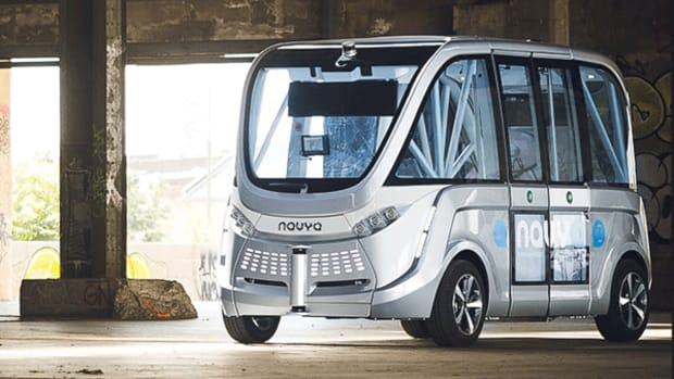 French Startup Navya Brings Driverless Shuttle to University of Michigan Test Site
