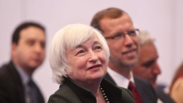 Fed Chair Janet Yellen to Consumers: Chill, It's All Good