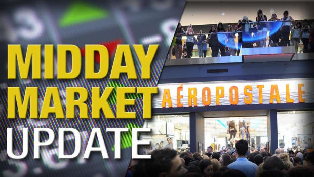 Midday Report: Aeropostale Broaches Sales; Stocks at 2016 Highs
