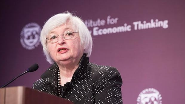 Yellen Talks Uncertainties Facing the U.S., Global Economy