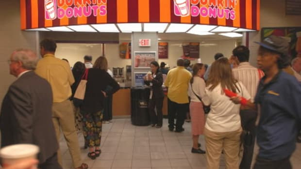 What's One Reason Pushing Dunkin' Brands (DNKN) Stock Up Today?