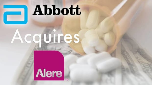 Alere's Stock Spikes Following News of Its Impending Buy by Abbott