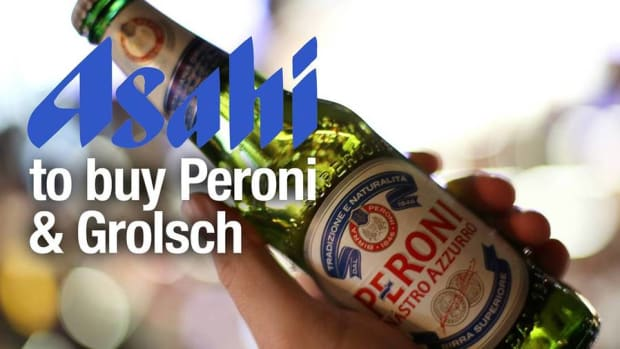 Asahi to Buy Beer Brands Peroni and Grolsch With $2.9B Offer