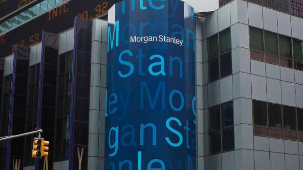 Morgan Stanley's Wealth Management Record Softens Blow From Bond-Trading Slide
