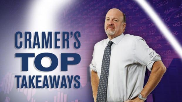 Jim Cramer's Top Takeaways: Popeyes Louisiana Kitchen, Apple Hospitality REIT