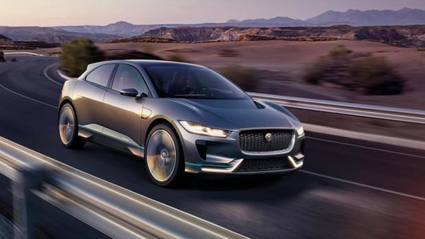 Newest Battery-Powered Jaguar SUV Could Take on Tesla Head-On