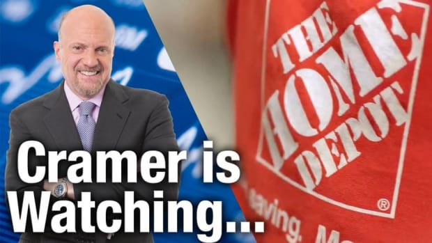 Jim Cramer Is Watching Home Depot's Earnings on Tuesday