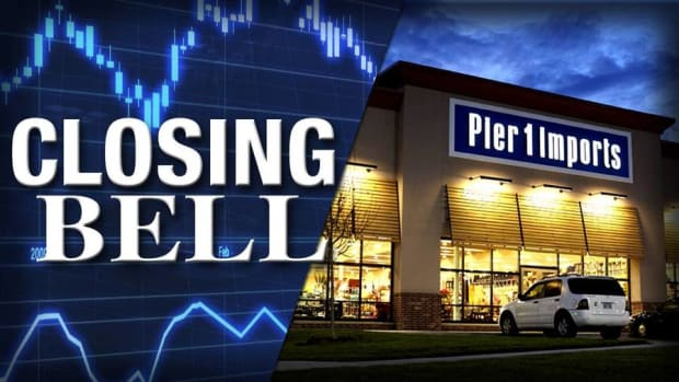 Closing Bell: Pier 1 Surges on Preliminary Sales; U.S. Stocks Mixed