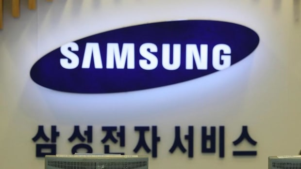 Shares of Samsung, Ericsson and Fortinet in Early Trading Wednesday