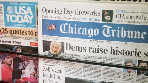 Jim Cramer: Tribune Needs To Take Gannett's Money and Run