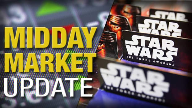 Midday Report: U.S. Stocks Slip; 'Star Wars' Leads Chinese Box Office