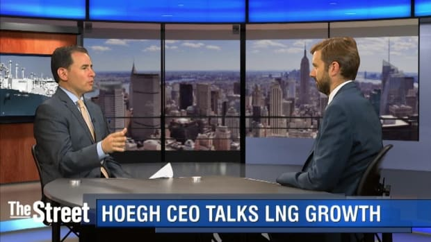 America's LNG Boom a Boon for Hoegh Says CEO
