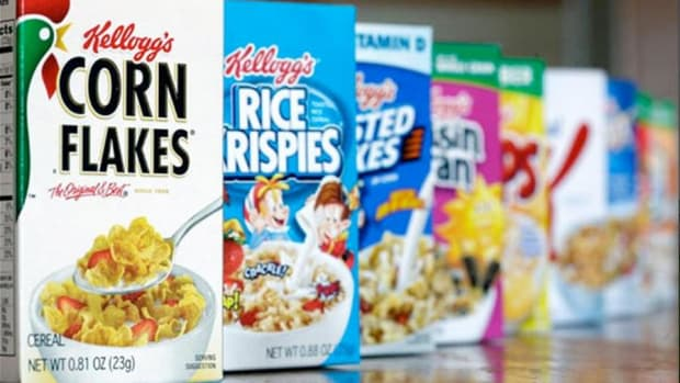 Jim Cramer: Kellogg Always Seems to Have a Lot of Fat