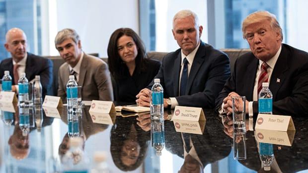 Apple, Facebook, Alphabet Resist Travel Ban; Worry About H-1B Visa