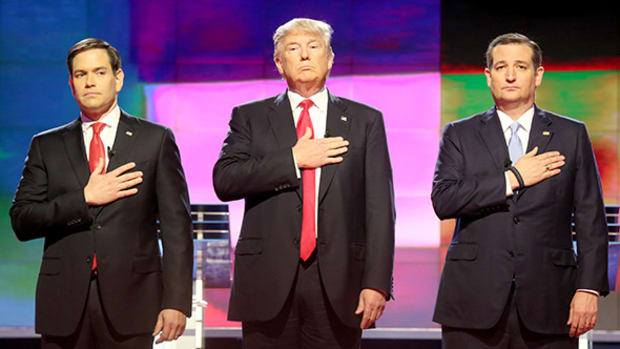 Donald Trump Uses the Soft Touch to Close the Deal at GOP Debate