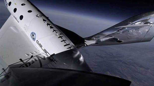 3. Virgin Galactic Flight to Space