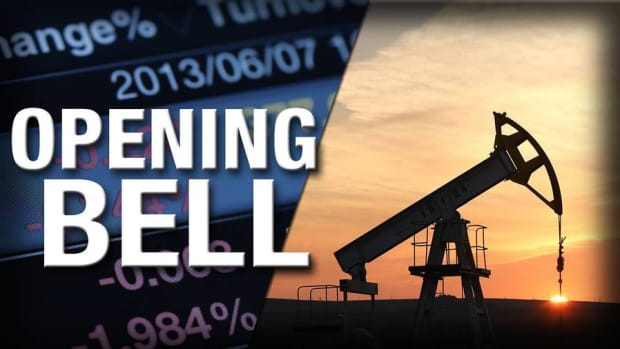 U.S. Stocks Open Higher; Oil Prices Move up on Hopes for Production Freeze