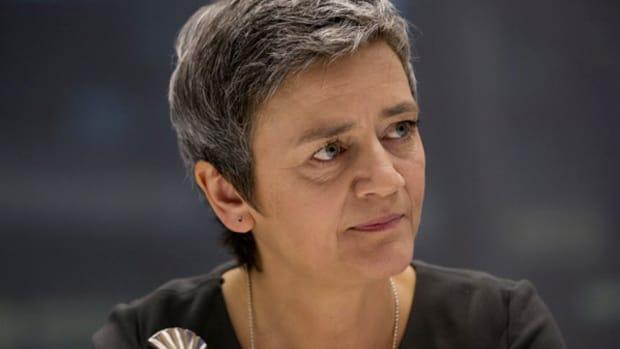 EC's Vestager Defends Apple Ruling in Irish Tax Case