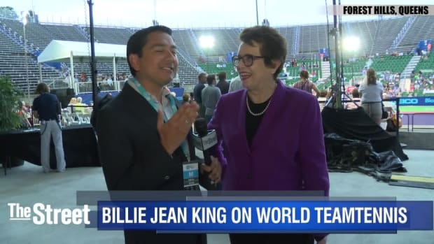 Tennis Legend Billie Jean King Wants to Make the Sport More Like Basketball