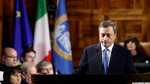 Draghi's European Stimulus Is Working, Eurozone GDP Growth Shows