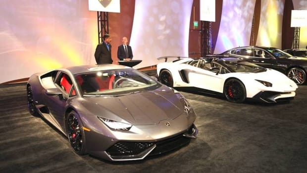 Sleek, Sexy, and Oh So Expensive Cars on Display in Detroit