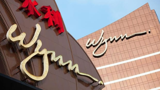 Wynn Shares Fall on Macau Management Reshuffle